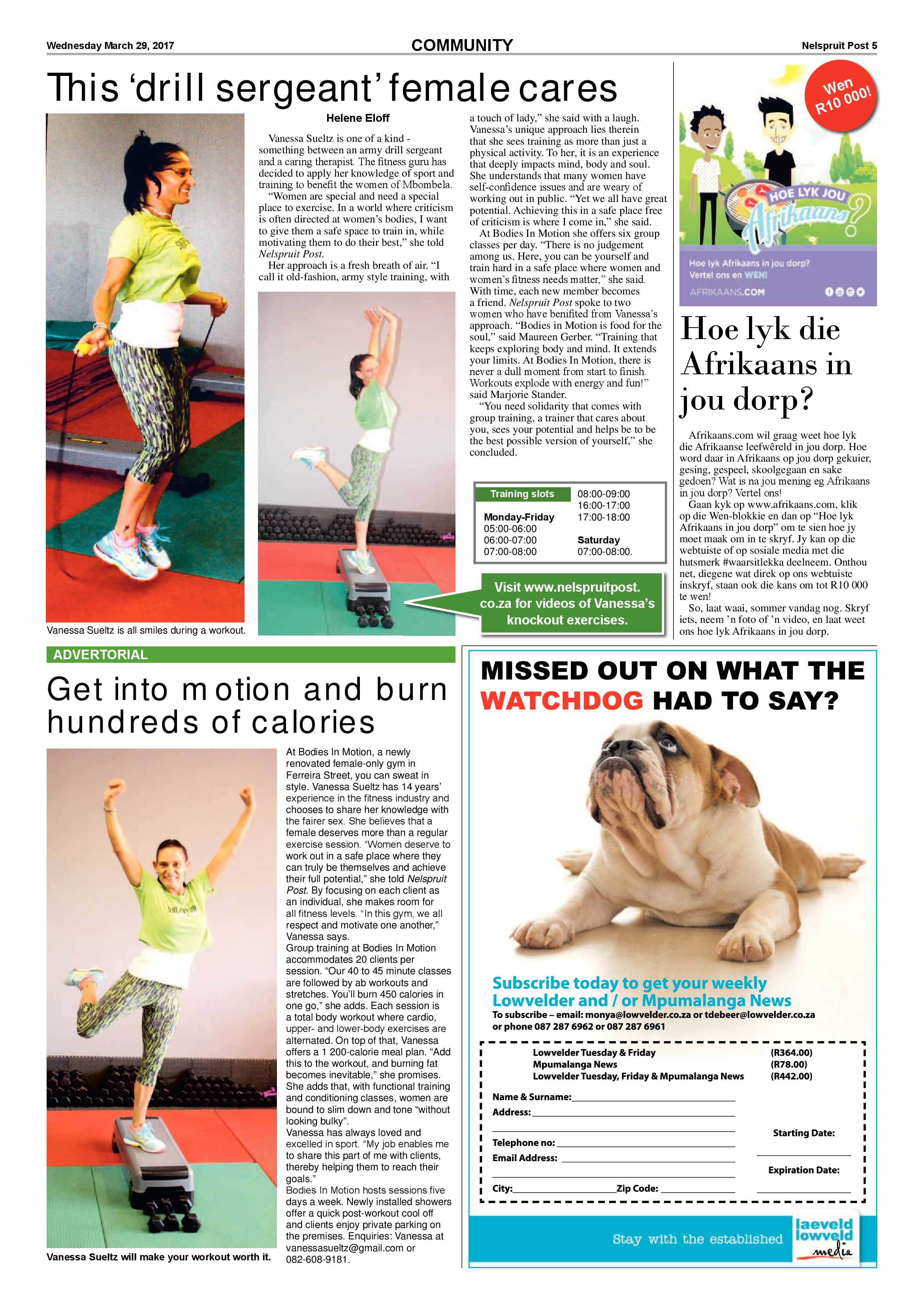 Posts for march page 7 - Nelspruit Post 29 March 2017 Epapers Page 5
